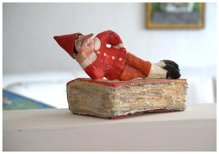 """Pinocchio"" opera di Laura Minuti"