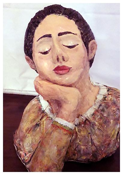 """""""Costanza"""" opera di Laura Minuti"""