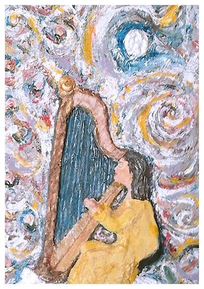 """""""Nel vortice della musica"""" opera di Laura Minuti"""