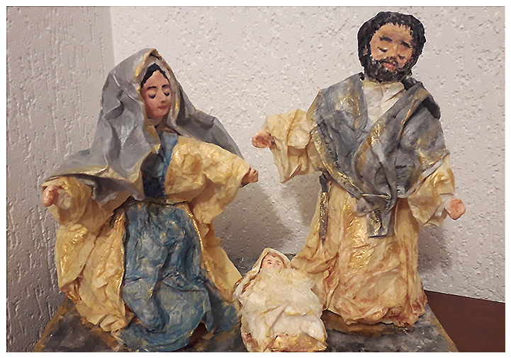"""""""Natività"""" opera di Laura Minuti"""
